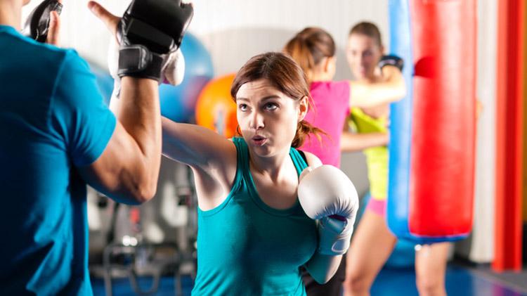 Kickboxing Fitness Class