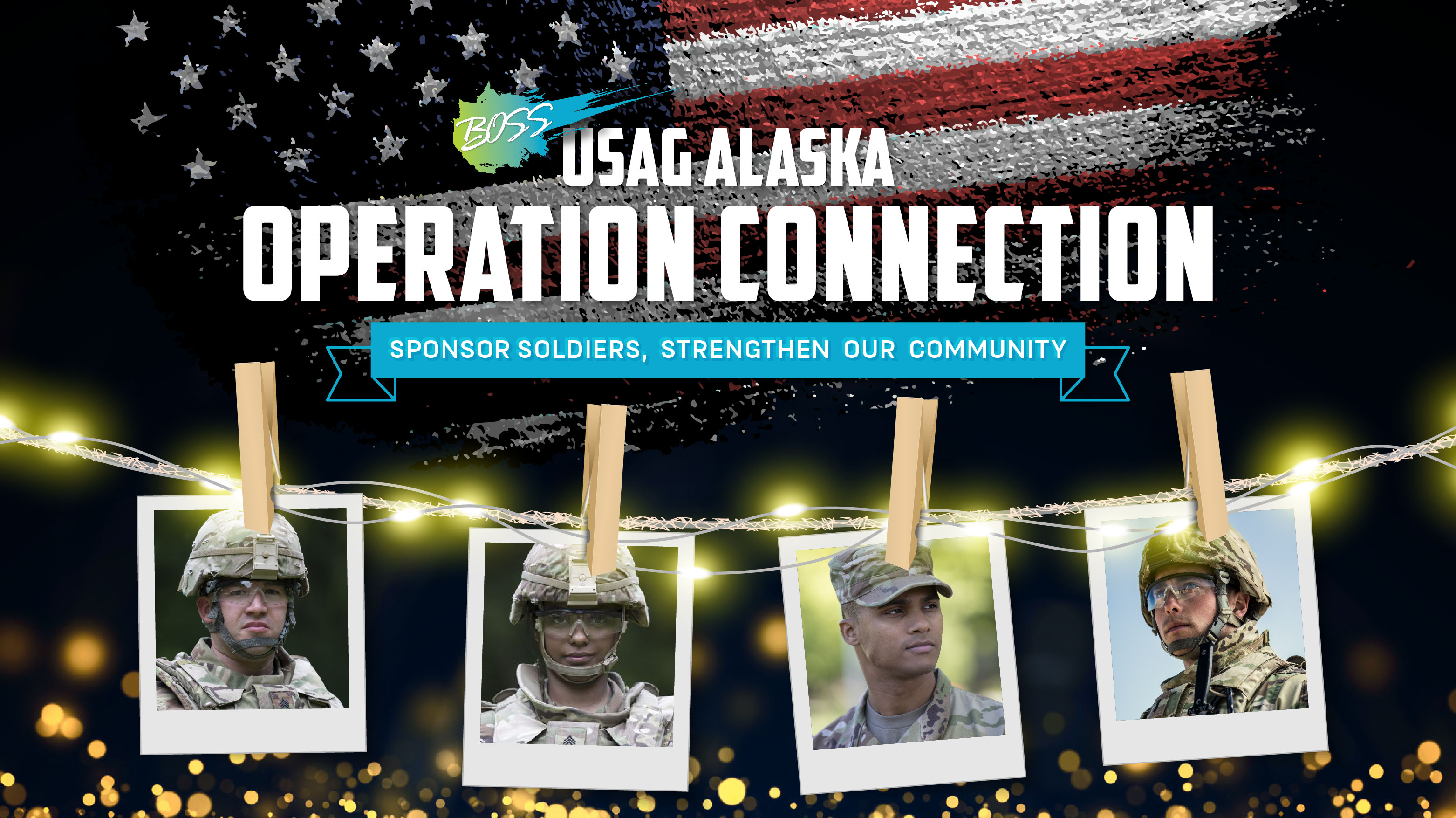 USAG Alaska Operation Connection: Sponsor Soldiers, Strengthen Our Community
