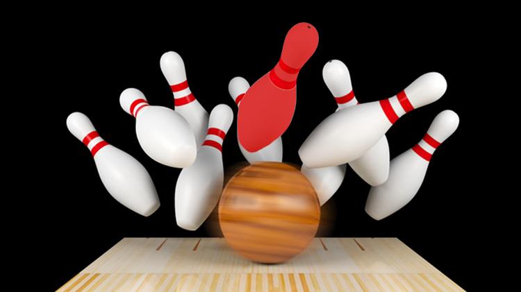 Red Pin Bowl-a-palooza