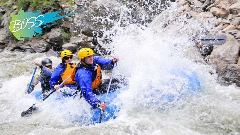 B.O.S.S. Life Skills: Whitewater Rafting Trip