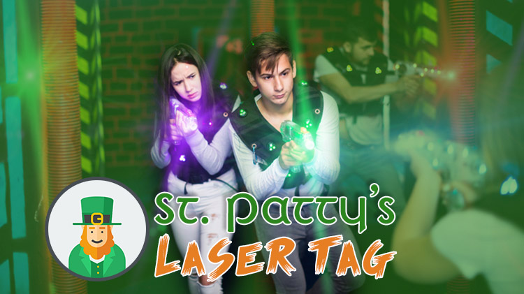 St. Patty's Laser Tag