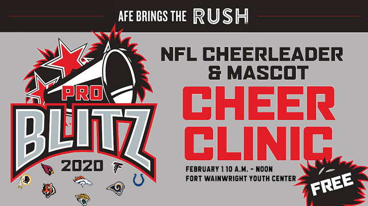 NFL Cheerleaders Clinic