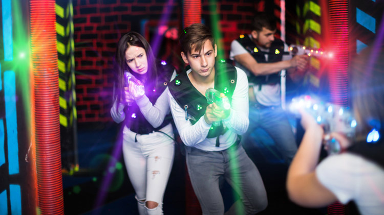 CANCELED - Training Holiday BOGO Laser Tag