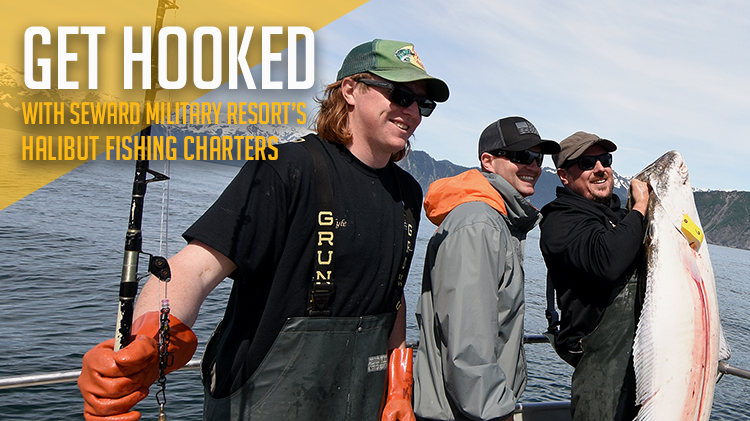 Halibut Fishing Charters Available Through Seward Military Resort