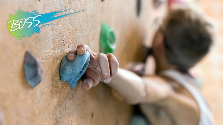 B.O.S.S. Tuedays with Outdoor Recreation: Indoor Rock Climbing