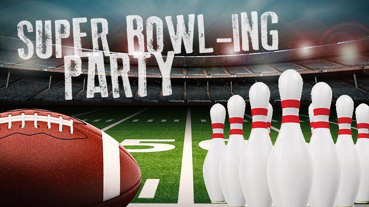 Super Bowl-ing Party at Nugget Lanes Bowling Center