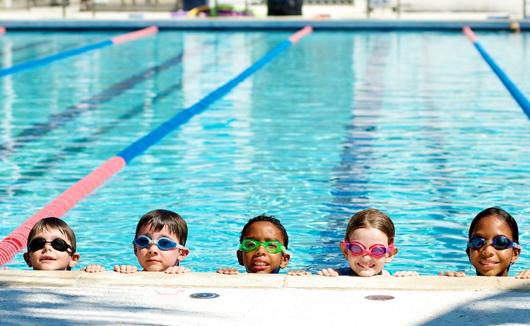 Swim Lessons at Melaven Aquatics Center