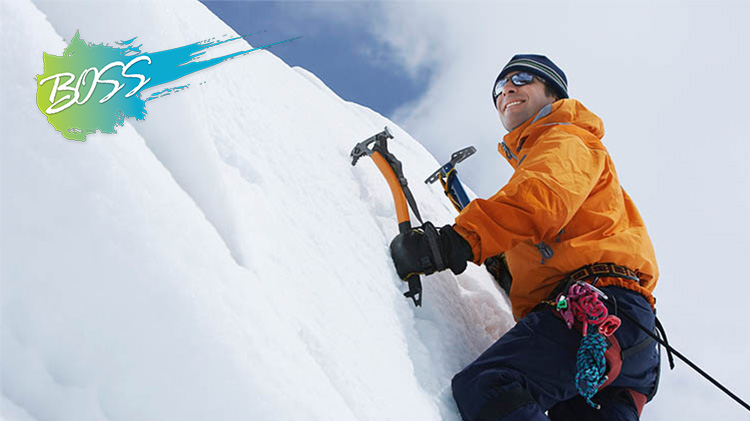 B.O.S.S. Adventures with Outdoor Recreation: Ice Climbing