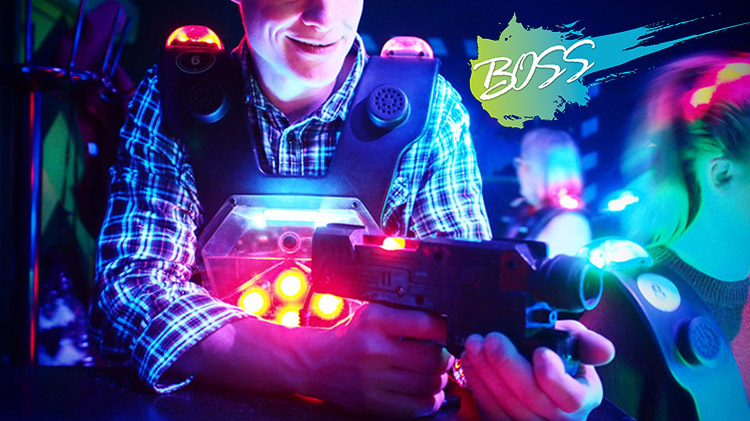 B.O.S.S. Friday Night Out: Pizza Party and Unlimited Laser Tag