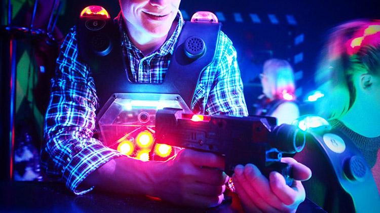 Laser Tag Reboot: Cyber Blast!