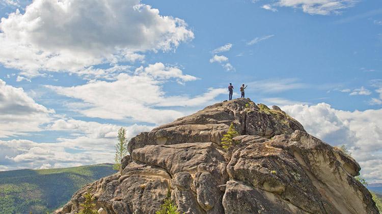 Angel Rocks Hike and Soak