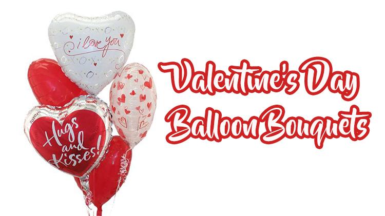 Valentine's Day Balloon Bouquets