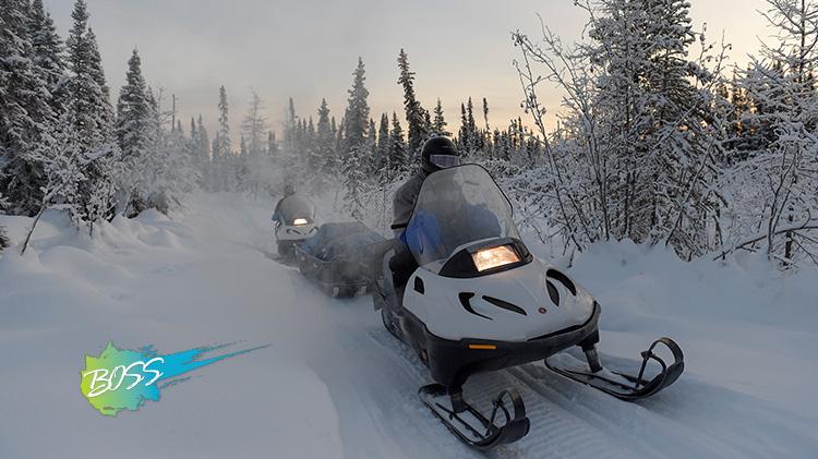 B.O.S.S. White Mountain Snow Machine Trip with ODR