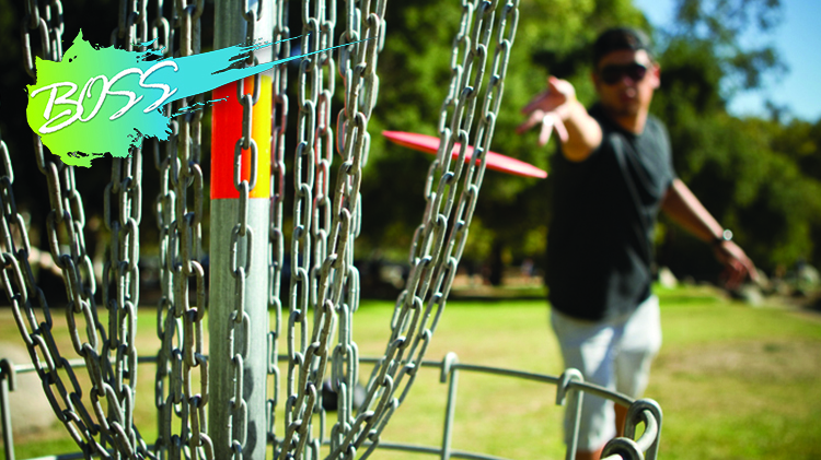 B.O.S.S. Tuesdays with Outdoor Recreation: Disc Golf