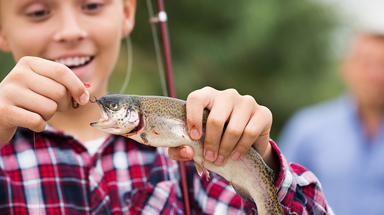 Youth Sports: Fishing Registration