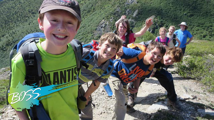 B.O.S.S. Hike in Denali National Park for Single Parents and Kids