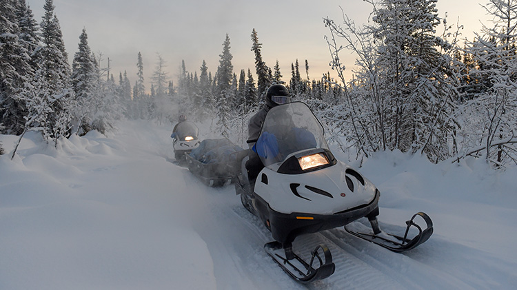 Stiles Creek Snow Machine Trip -- Chena River SRA