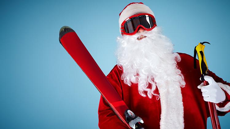 Downhill Santa Shred - Win a Birch Hill Season Pass