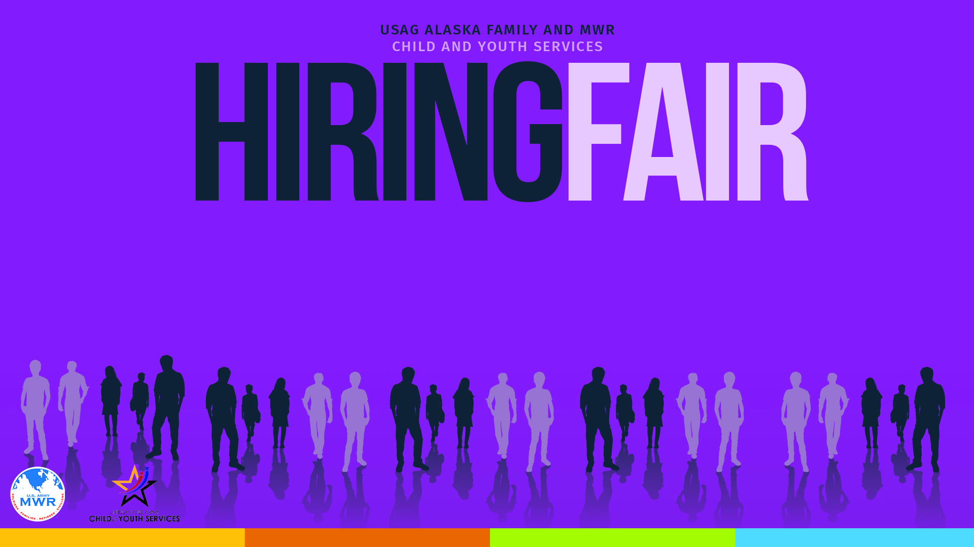 We're Hiring! USAG Alaska Family and MWR Child and Youth Services Hiring Fair