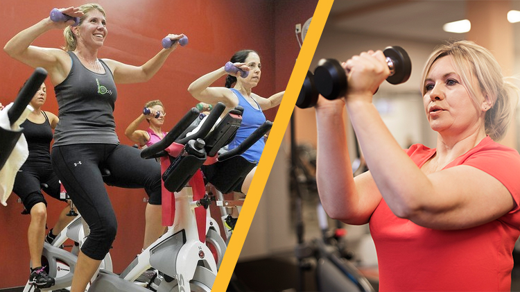 Instructor's Choice Fitness Class (Pump & Pedal or Upper Cut)