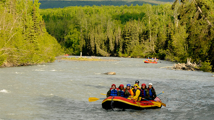 Family Day Scenic Rafting