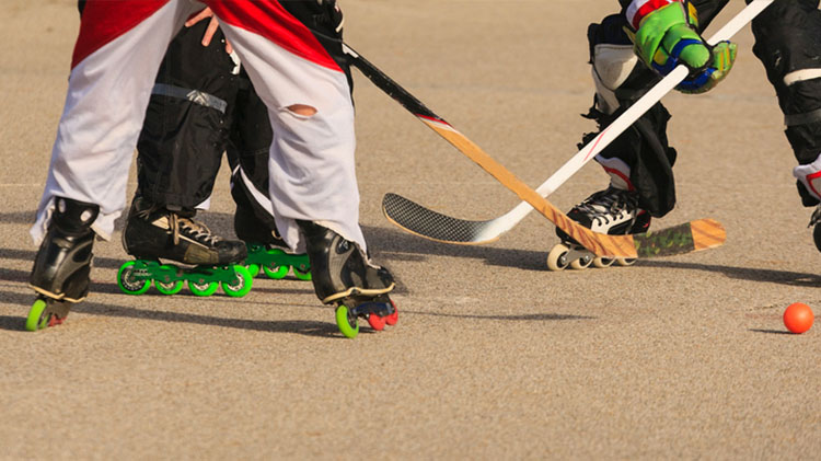 Roller Hockey at the Youth Center