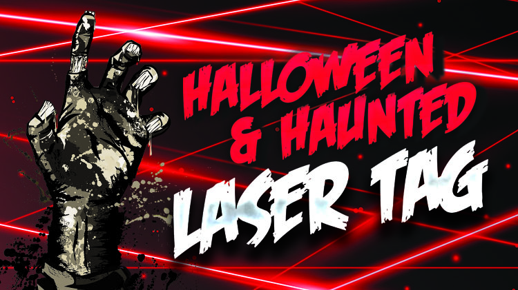 Halloween and Haunted Laser Tag